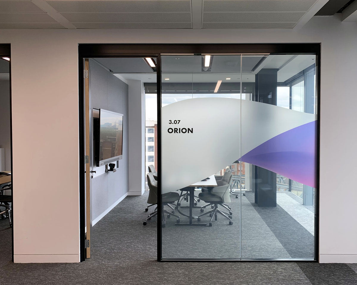 Orion Room Clear Glass
