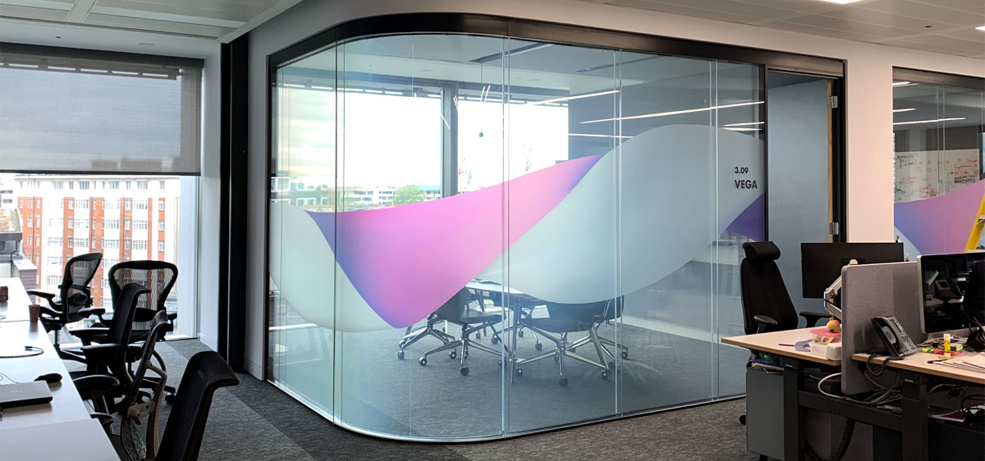 Priviglaze Office Partition
