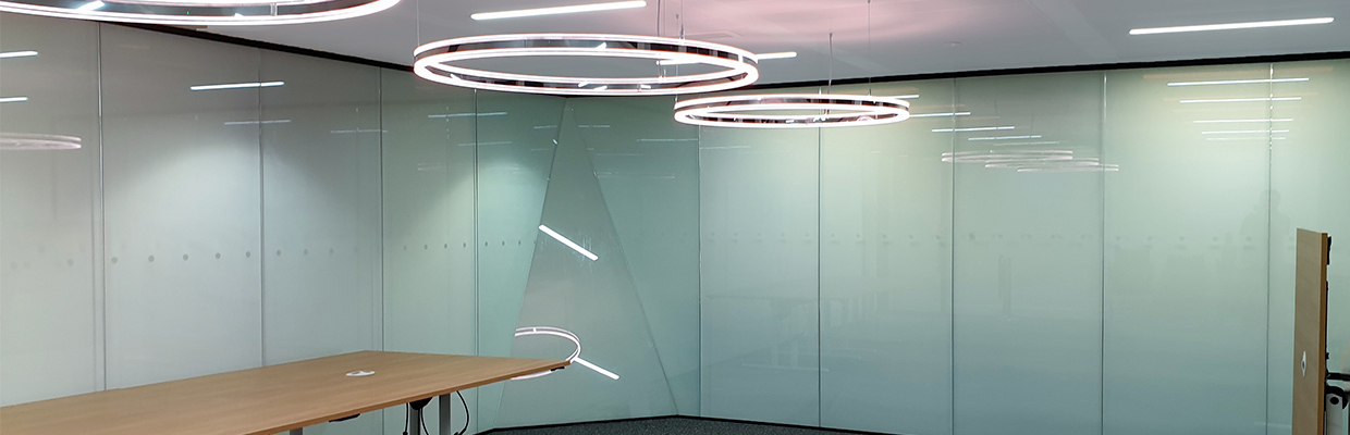 Holborn Office Interior with Privacy
