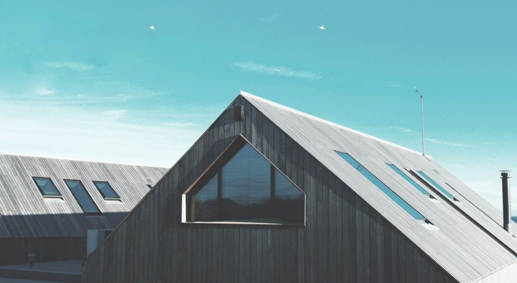 Skylights on Industrial Roofs