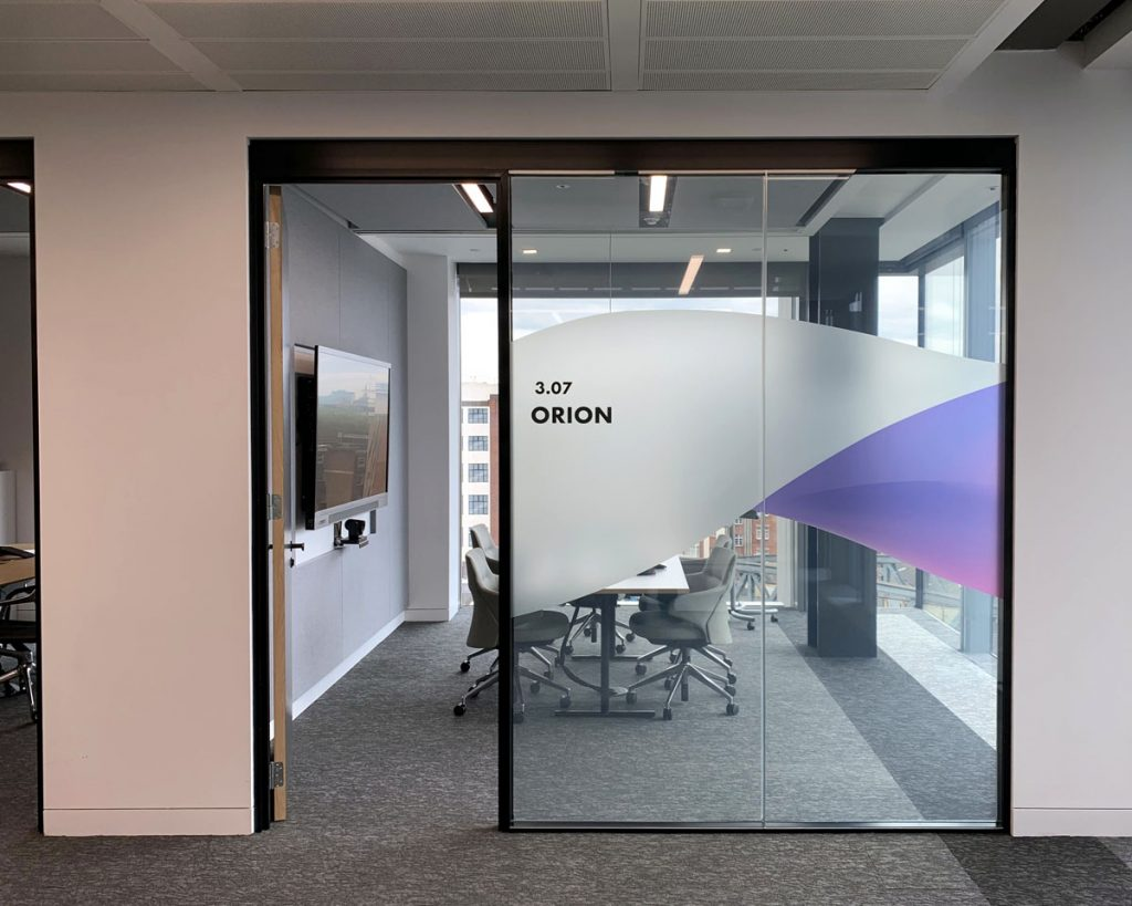 Meeting Room with Clear Smart Film
