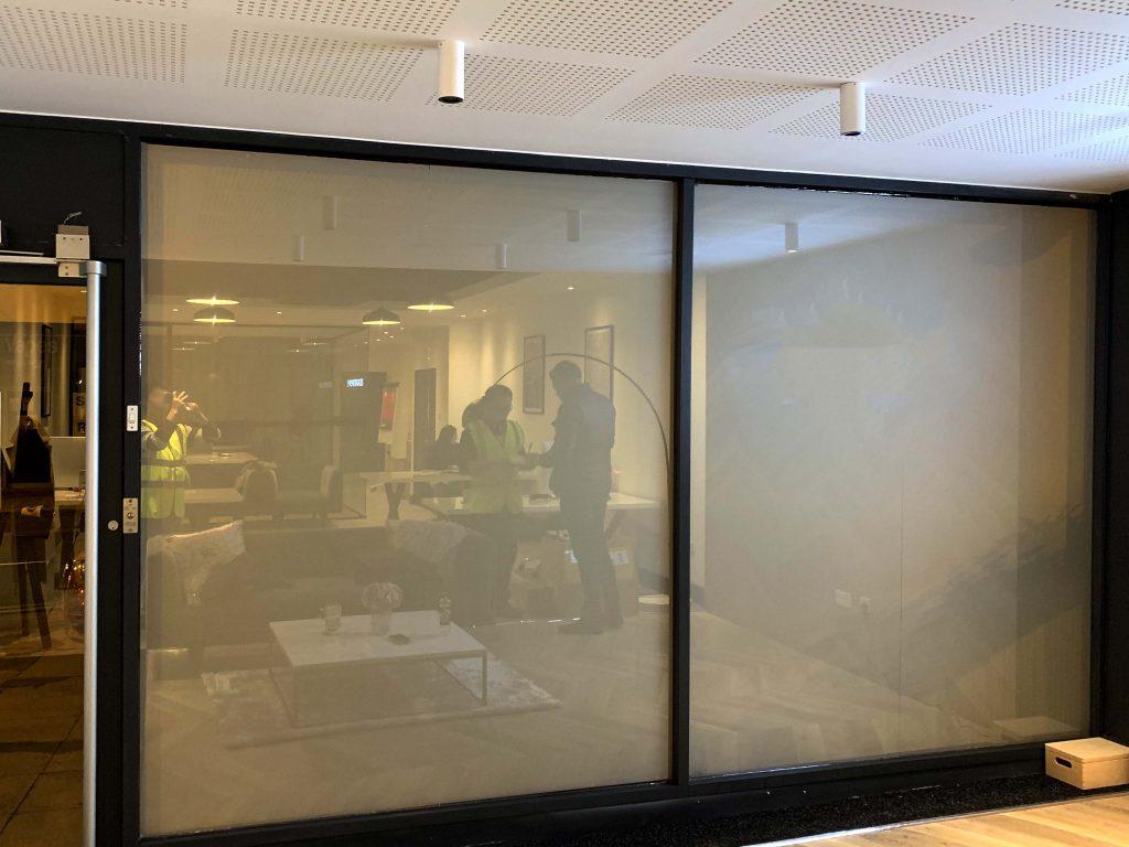 Interior Smart Glass Off