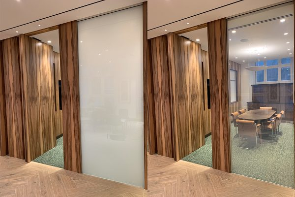 Timber Frame Office Partition