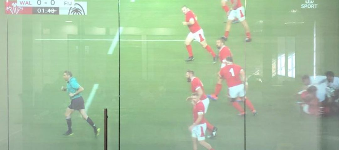 Rugby Rear Projection