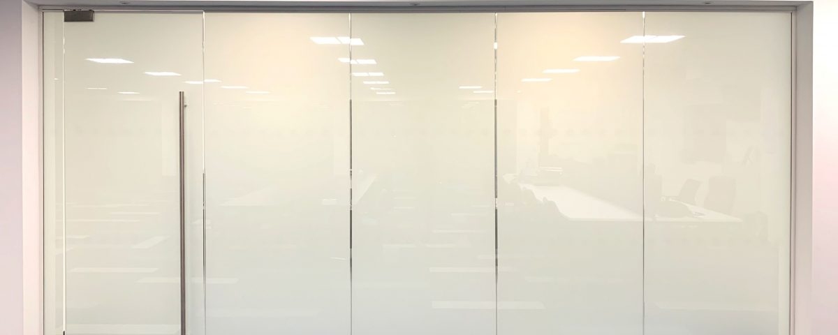 Smart Glass Partition