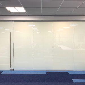 Smart Glass Partition