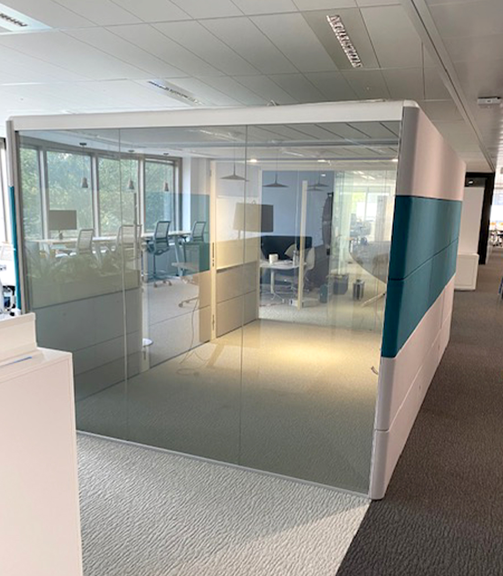 Meeting Pod in Office Layout