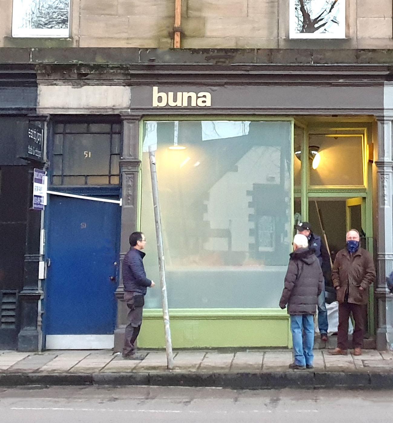 Shopfront Rear Projection Buna