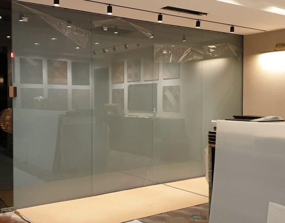Shopfront Rear Projection Display